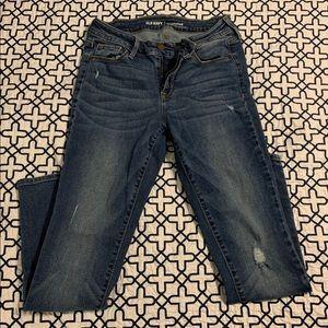 Old Navy Rockstar Super Skinny Jeans 2S